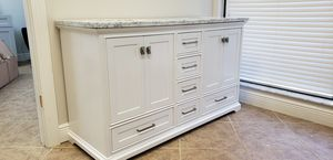 Gorgeous white bathroom vanity for Sale in Naples, FL