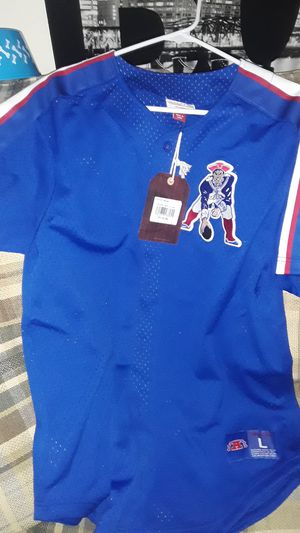 Patriots Jersey size L for Sale in Chelsea, MA