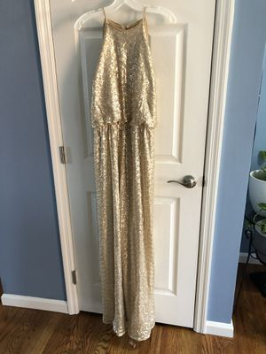 Bill Levkoff Gold Sequin dress for Sale in Saint Charles, MO