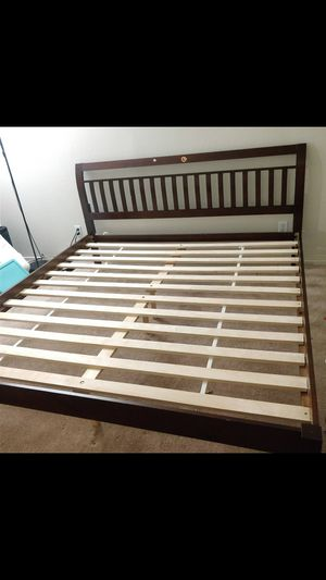 Cal king ikea bed frame for Sale in Fremont, CA