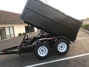 Dump Trailers 5x8x3 for Sale in Vista, CA