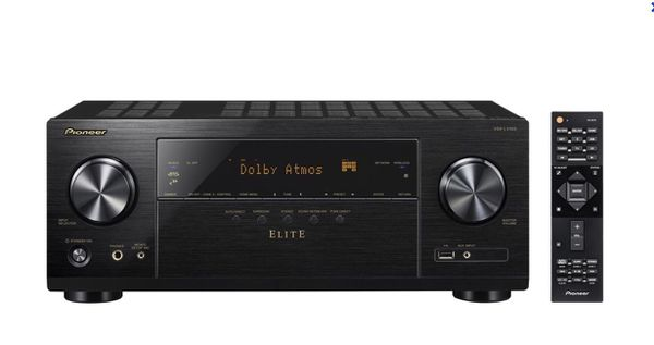 Pioneer - Elite 7.2-Ch. Hi-Res 4K Ultra HD HDR Compatible A/V Home Theater Receiver - Black