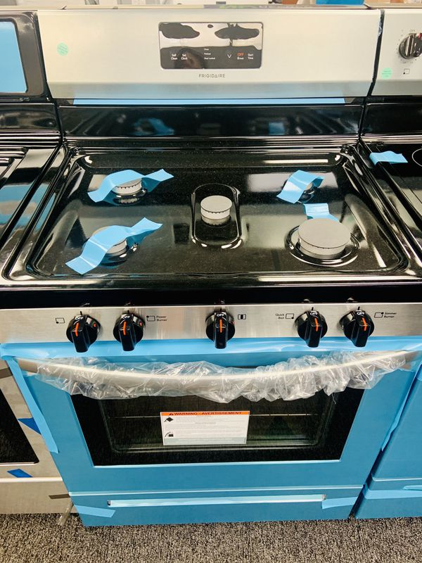 New Frigidaire gas stove