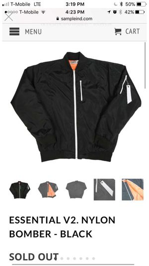 SAMPLE IND BOMBER JACKETS SZ M BRAND NEW For Sale In Los Angeles CA