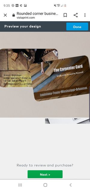 Business cards -logos -slogans for Sale in Monroe, LA