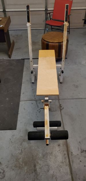 beach press and pull up bar for Sale in Fresno, CA