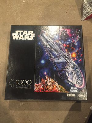 STAR WARS PUZZLE 1000 PIECES for Sale in Glendale, AZ