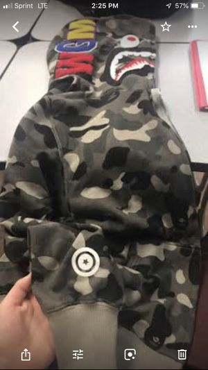 Bape jacket for Sale in Dupo, IL