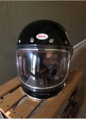 Never Used Motorcycle Helmet size Large - need to try on before assuming to big or small for Sale in Atlanta, GA