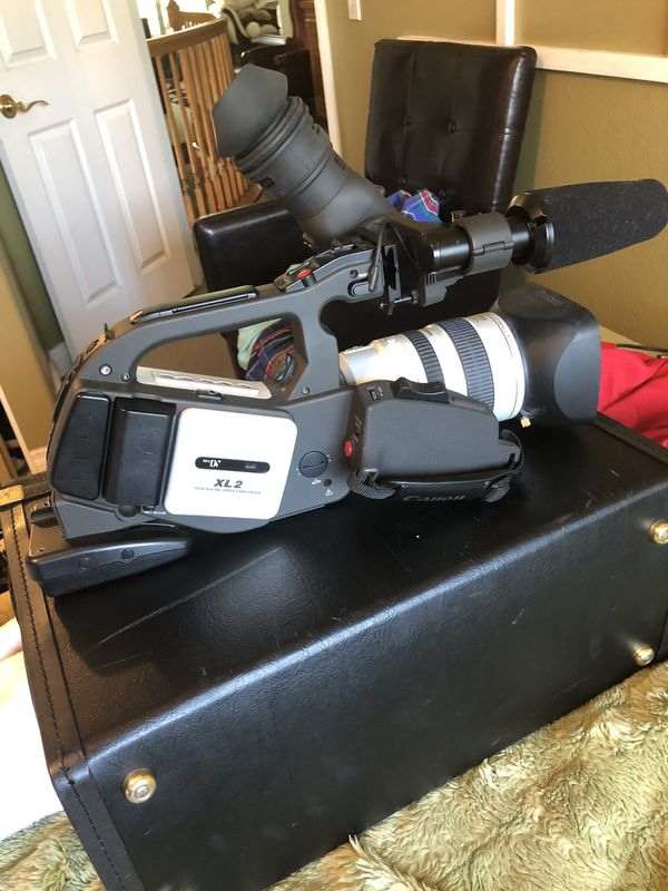 Canon professional video camera XL to need headCleaning