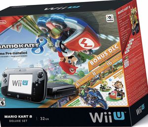Nintendo Wii U Mariokart deluxe set for Sale in Wood Village, OR