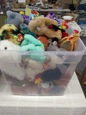 Vintage Beanie Babies $1 to $3 Each for Sale in Ashland City, TN