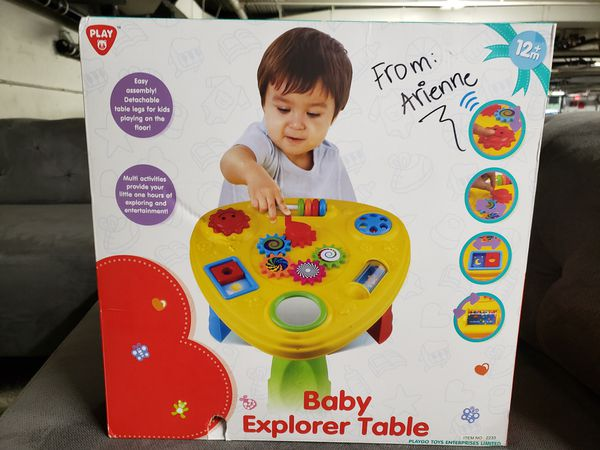 Play Baby Explorer Table, 12 months+