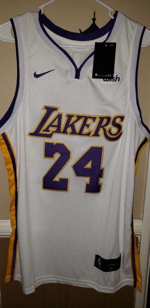 New!!! Men's Large Kobe Bryant Los Angeles Lakers Jersey New with Tags Stiched Nike $45. Ships +$3. Pick up in West Covina for Sale in West Covina, CA