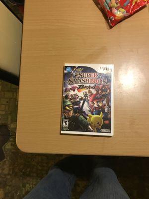 SUPER SMASH BROS NEW Wii GAME for Sale in Norfolk, VA