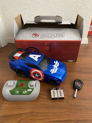 Captain America RideMakerz Toy Car for Sale in San Diego, CA