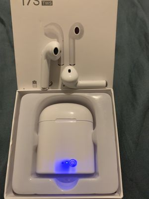 Wireless earbuds (NOT Apple Airpods). Bluetooth compatible with both Iphone and Android devices. for Sale in Diamond Bar, CA