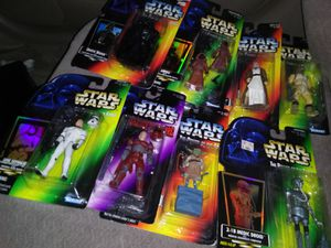 9 star wars action figures collection 2 for Sale in Salt Lake City, UT