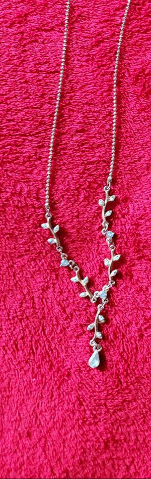 Blue/Silver Necklace for Sale in Manassas, VA