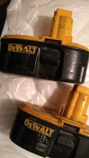 DeWalt battery's for Sale in Ville Platte, LA