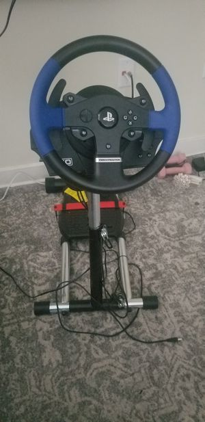 Thrustmaster T150 and Wheelstand Pro! for Sale in Raleigh, NC