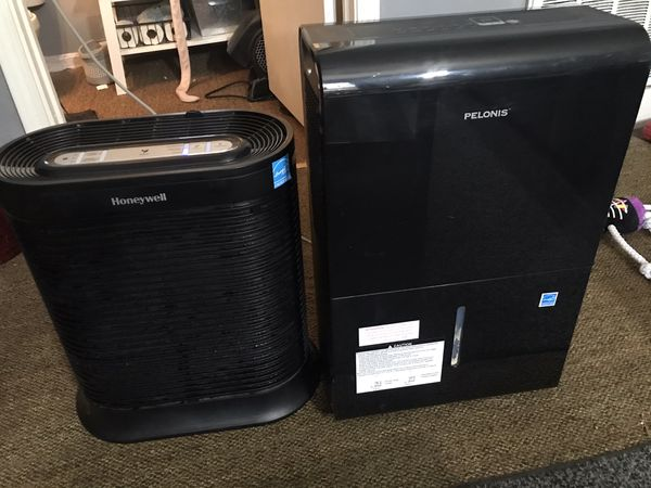 Dehumidifier and purifier/allergen remover.