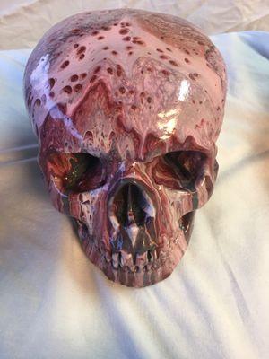 Handcrafted concrete skulls for Sale in Scottsdale, AZ