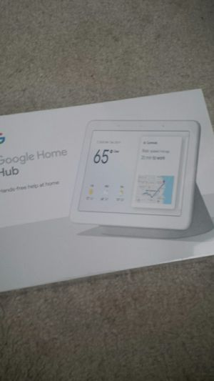 Google home hub (brand new) for Sale in Gaithersburg, MD