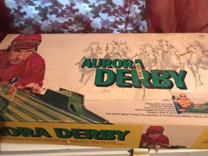 Aurora derby 1970s toy not all there for Sale in Roby, MO