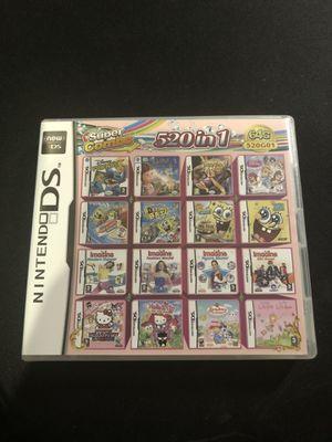 520 in 1 Nintendo DS Games Multicart for Sale in Stockton, CA