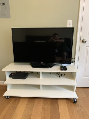 LG 42 inch LED HDTV with stand for Sale in Fairfax, VA