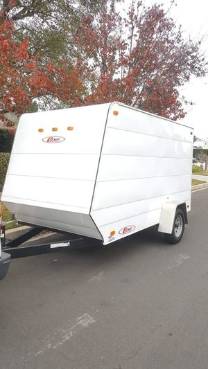 2016 CARSON ENCLOSED TRAILER LIKE NEW 6x12x6.3 TALL for Sale in Los Angeles, CA