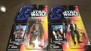 Hand Solo and Chewbacca for Sale in Elma, WA