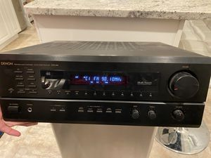 DENON RECEIVER RADIO STEREO SYSTEM for Sale in Trumbull, CT