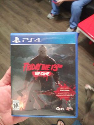 Friday The 13TH The Game ps4 for Sale in Palm Bay, FL
