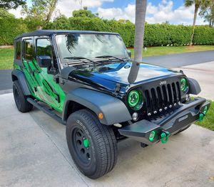 2018 JKU JK Sport S, Wrangler Jeep for Sale in Boca Raton, FL