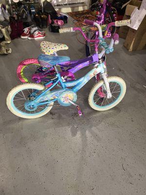 Frozen Bike and Trolls Bike for Girls for Sale in Ellenwood, GA
