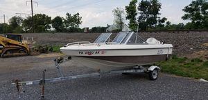 16ft Sylvan 90hp boat for Sale in Dallastown, PA