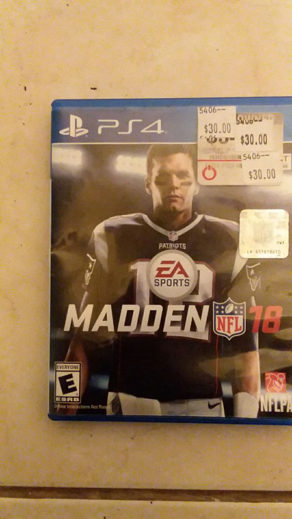 Madden 18 get it while you can. $36