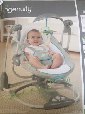 Baby Swing & Vibrating Chair - Ingenuity for Sale in Denver, CO