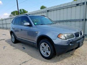 2004 BMW E83 X3 3.0L FOR PARTS PARTING OUT OEM for Sale in Dallas, TX