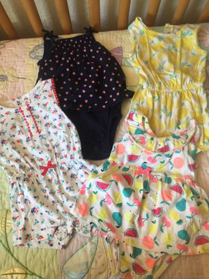 Babygirl 9 months carters..$3ea for Sale in Santee, CA