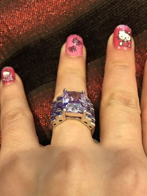 18K Gold plated Engagement Ring for Sale in Houston, TX