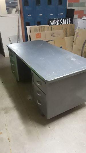 Free, very very heavy steel desk. for Sale in San Tan Valley, AZ