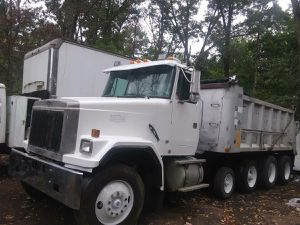For sale dump truck volvo cm 1993 4 axle for Sale in Sterling, VA
