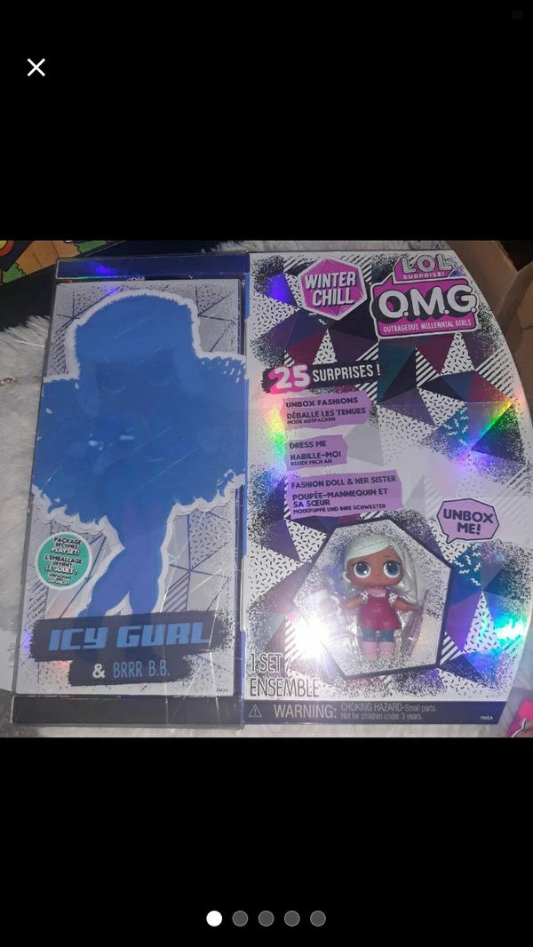 JUST IN!LOL Winter set