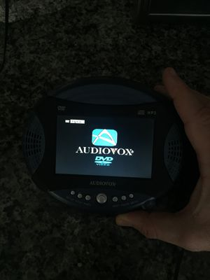 Portable dvd CD player! Watch movies on the go. With case for Sale in Bensalem, PA