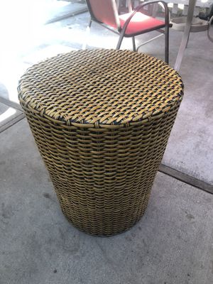 Wicker patio furniture set (12 piece set) for Sale in Tracy, CA