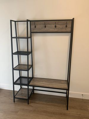 "68"" Hall Tree with Shelves for Sale in Bellevue, WA"