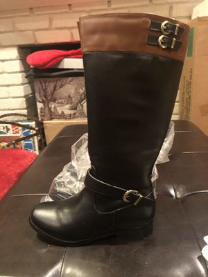 Girls boots. Upper leather. Size 2. New for Sale in San Leandro, CA